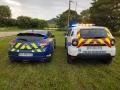 Dacia Duster 2018 Police Municipale et Megane RS bleu RAS DISTRIBUTION Montpellier