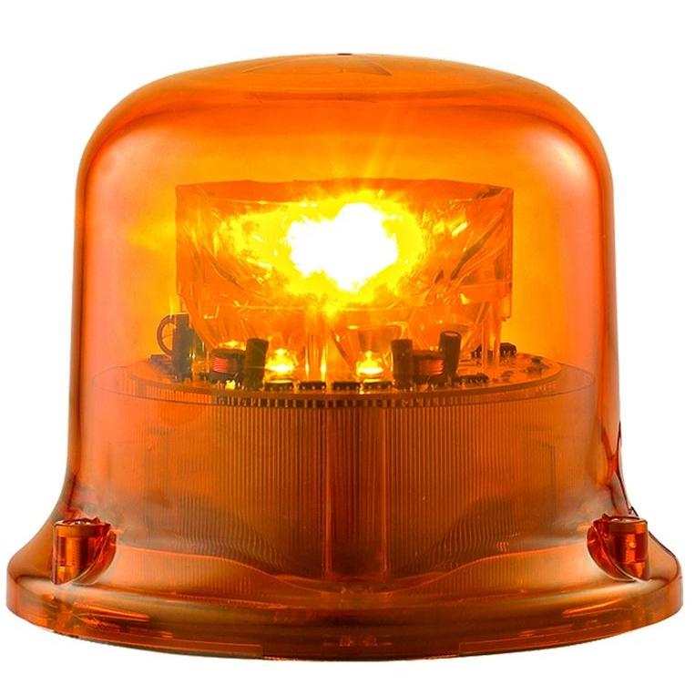 gyrophare led sirena fr5 fx5 orange tournant ou flash. Black Bedroom Furniture Sets. Home Design Ideas