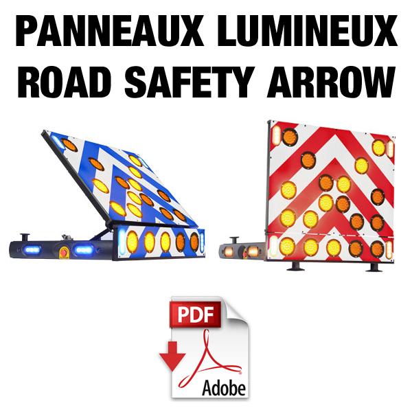 Panneaux lumineux Road Safety Arrow
