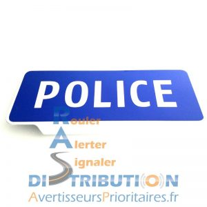 Pare soleil Police Nationale Plaque Police
