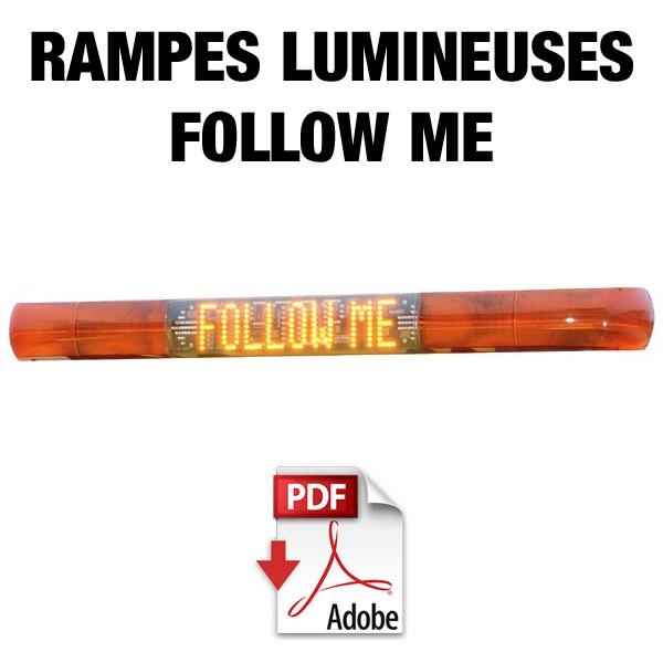 Rampes lumineuses FOLLOW ME