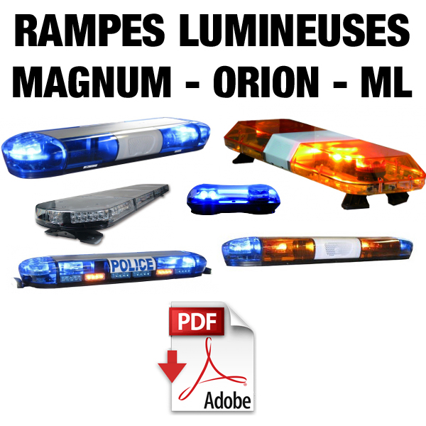 Rampes lumineuses Magnum Orion ML