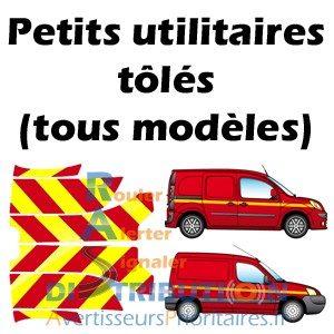 Kits de balisage prédécoupé jaune rouge véhicules Pompiers pu tôlé