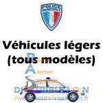 Sérigraphie Police Municipale véhicules légers VL