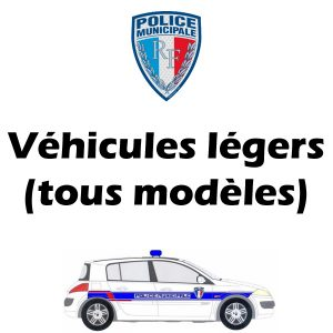 Kit Serigraphie Police Municipale vehicules legers vl