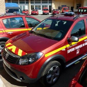 Kit prédécoupé Pompier pour véhicule type Sandero Clio 207 C3 3008 Mégane