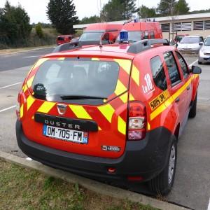 Kit de balisage prédécoupé véhicule Pompier tout terrain Duster Wrangler Defender Pajero