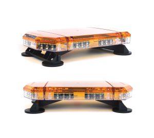 Rampe lumineuse LED orange ou bleu R65