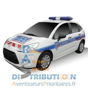 Sérigraphie Police Municipale VL