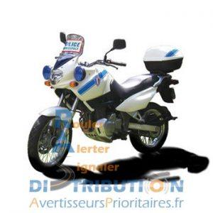 Balisage Police Municipale Sérigraphie moto