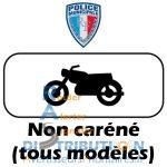 Sérigraphie balisage moto Police Municipale