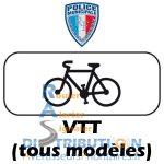 Sérigraphie VTT Police Municipale Vélo