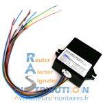 Module amplificateur sirène multitons