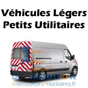 Kit prédécoupé balisage rouge blanc pour véhicules type Doblo Partner Berlingo Caddy