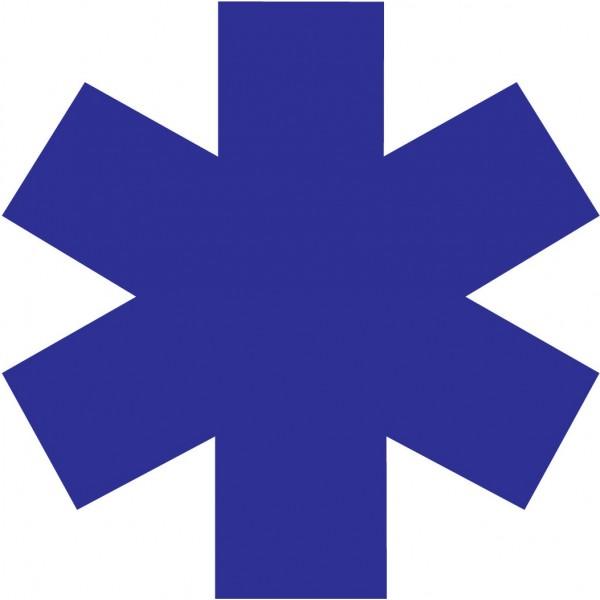 autocollant croix de vie ambulance 40 cm pour v hicule. Black Bedroom Furniture Sets. Home Design Ideas