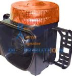 Gyrophare orange avec sirène intégrée LM500-DP