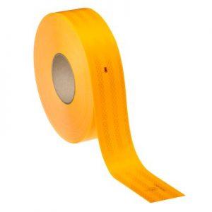 bande reflechissante pour vehicule pompier jaune fluo 3M 983-21 diamond grade