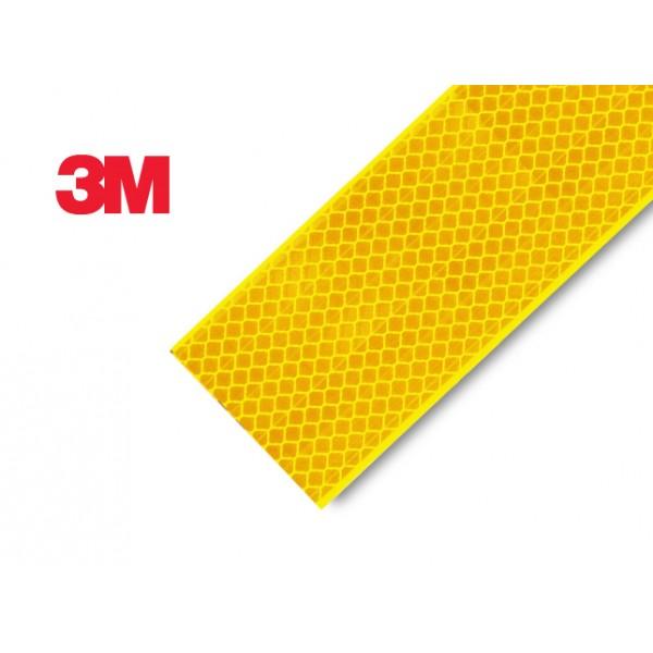 Bande prismatique jaune Sapeurs-Pompiers