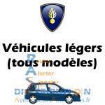 Nouvelle sérigraphie Gendarmerie pour VL