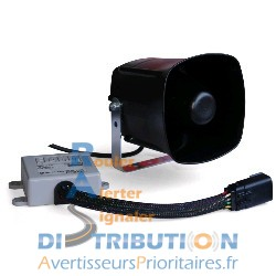 Sirène Sapeurs-Pompiers FIAMM PS10 24V et HP FM