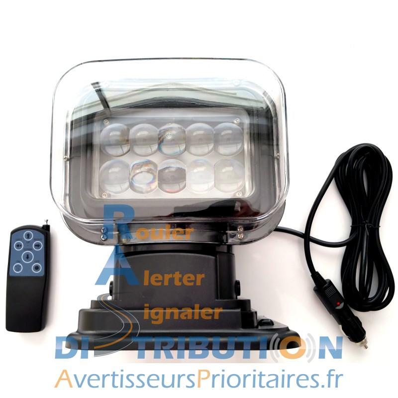 Phare De Recherche Led Motoris 233 Et Radiocommand 233 12 24v