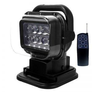 Phare de recherche LED magnétique télécommande sans fil
