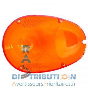 Cabochon orange pour gyrophare GDO et GDO de Valeo