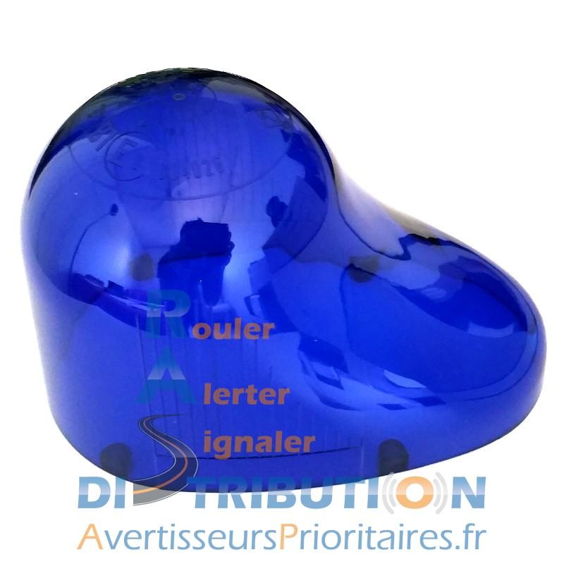Cabochon GDO bleu dôme gyrophare goutte d'eau