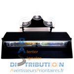 Feux LED pare brise et tableau de bord bleu ou orange