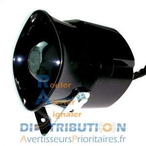 Avertisseur sonore vehicule prioritaire SC35 2 tons 3 tons