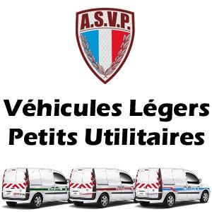 Sérigraphie ASVP vehicules legers et petits utilitaires