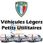 Sérigraphie Police Rurale véhicule légers et petits utilitaires