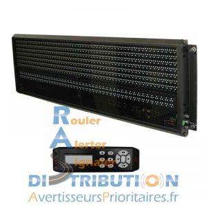 Panneau à messages variables SIRAC LSG900 pour véhicule