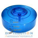 Cabochon LM400 bleu pour Gyrophare LP400 combiné LM500