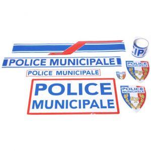 Sérigraphie véhicule Police Municipale kit classe B