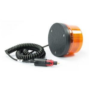 Gyrophare LED orange B16 super magnétique câble spiralé