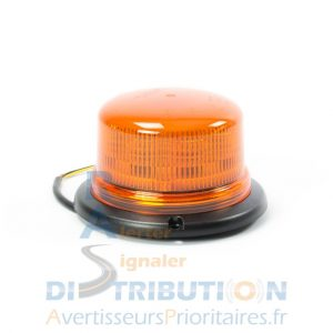 Gyrophare orange fixe à LED B16