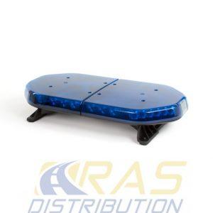 Rampe lumineuse pour vehicule de secours ou d'intervention RLT-ECO bleu 60 cm