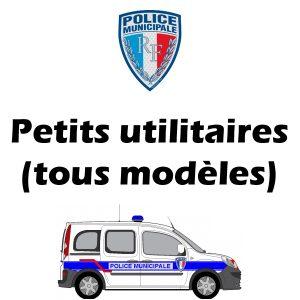 Serigraphie Police Municipale signalisation des véhicules pu