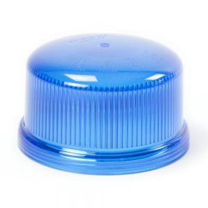 Cabochon bleu gyrophare B16 LED