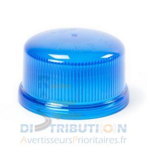 Cabochon (voiffe) bleu pour gyrophare LED B16