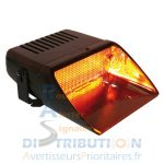 Feu de pare-brise Viper S2 simple orange