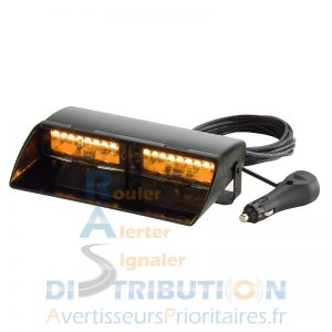 feu de pare-brise Viper S2 double orange