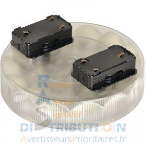 Gyrophare LED rotatif ou flash AXIOS