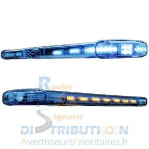 Rampe de signalisation lumineuse rampe gyrophare avec sirène et haut-parleur intégrés
