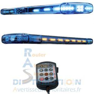 Rampe gyrophare bleu Police Gendarmerie