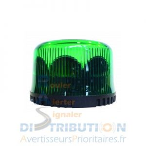 Gyroled vert simple gyrophare LED vert