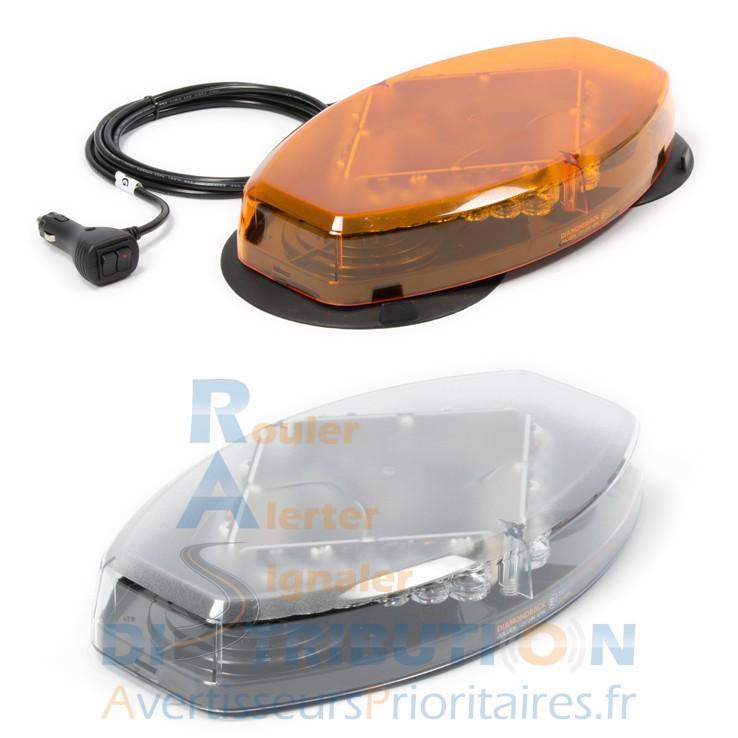 Mini rampe lumineuse diamondback orange led magn tique ou - Rampe lumineuse a led ...