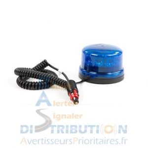 Gyrophare B16 REVO magnétique bleu à LED