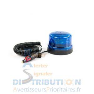 Gyrophare LED B16-REVO bleu super magnétique